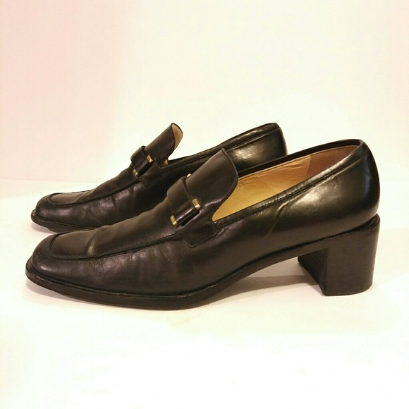ff18aaeefb7 Gucci Shoes - Gucci Women s Loafer Heels 7.5