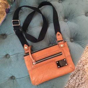 L.A.M.B. Mini Trademark Sophia leather Crossbody