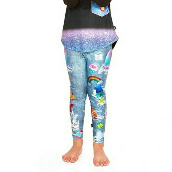 abb208680d0c0 Zara Terez Bottoms | Terez Girl Denim Leggings Size 6 | Poshmark