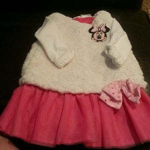 Disney baby minnie mouse dress 6-9 months
