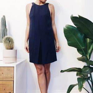 finders keepers navy shift dress XS