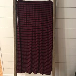 J. Crew Maxi Skirt Size Medium
