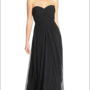 Jenny Yoo Mira Convertible Dress in Onyx Size 16
