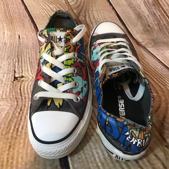 77507777dae4 Converse Shoes - Converse Chuck Taylor rare Sci Fi Ox Printed shoes