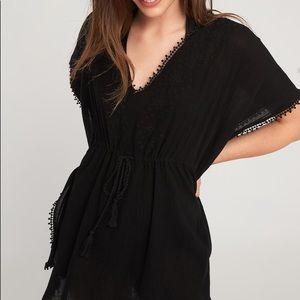 Old navy Embroidered cover up