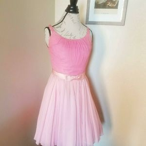 1950s Chiffon party dress