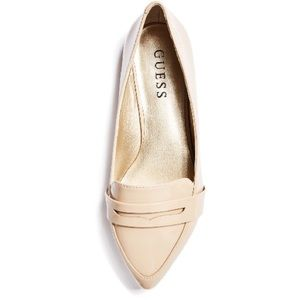 Firm Sale! BNIB | Guess - Nude Loafers