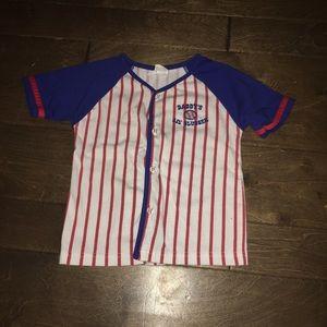 Other - Baseball Jersey Tee