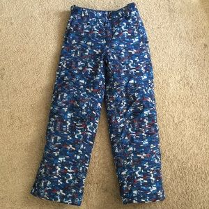 L.L. Bean Boy's Snow Pants 14 Like New