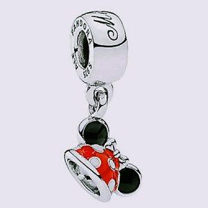 Jewelry - Pandora Minnie Ear Hat dangle Charm