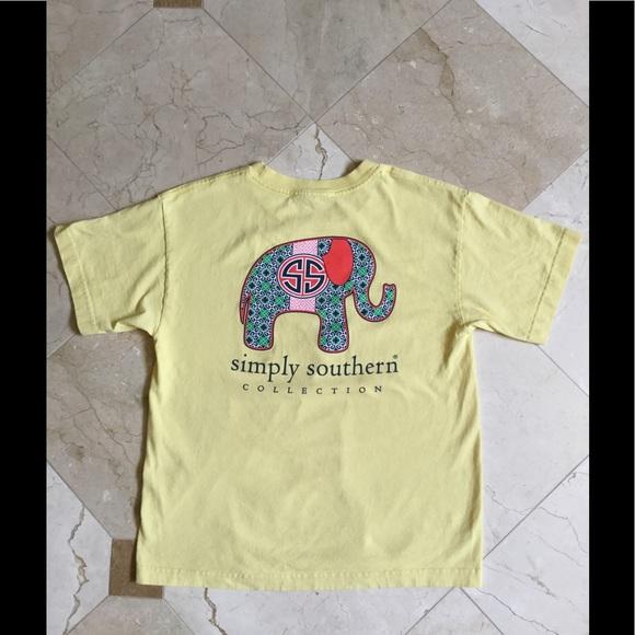 9cdf0bfb8f97e9 Simply Southern Elephant Tee-YM. M 59d45439f09282510a070768