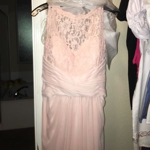 Brand new never used David's bridal long gown