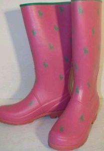 Authentic Ralph Lauren polo rain boots