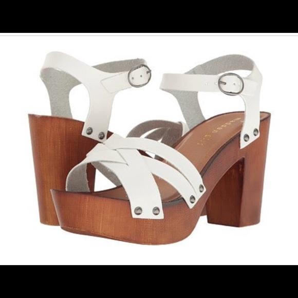 Shoes | Madden Girl White Clogs | Poshmark