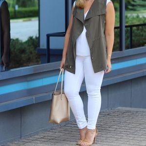 Paige Verdugo Ultra Skinny White Jeans