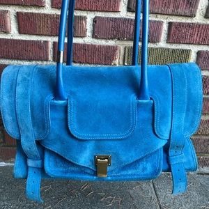 Authentic Proenza PS1 Keep All Blue Suede