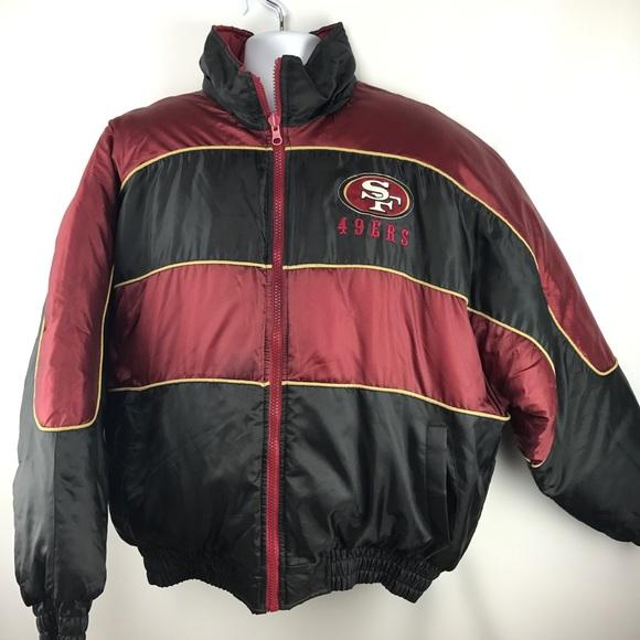 on sale 78c3d 90419 San Francisco 49ers vintage 90s jacket REVERSIBLE
