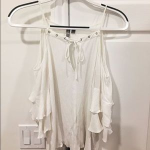 Super cute asos white top