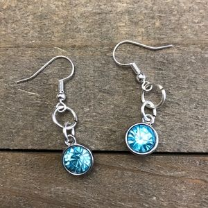 Jewelry - 3 for $25  Handmade Light Blue Dangle Earrings