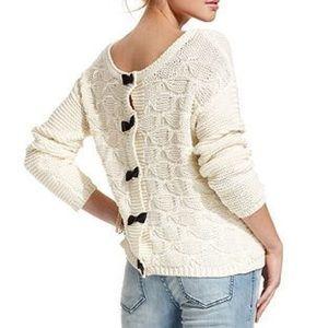 Jessica Simpson chunky knit sweater