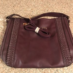 Large Purple Tote/Purse