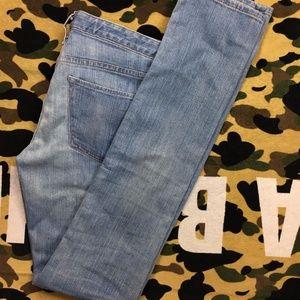 Earnest Sewn Harlan Light Wash Skinny Jeans