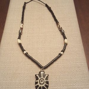 Other - Men tribal bone charm necklace