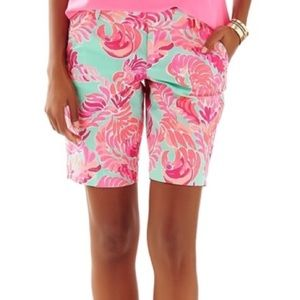 NWT Lilly Pulitzer Chipper Shorts, Size 14