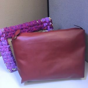 Handbags - Oversized Red Clutch Bag free with 30 purchase