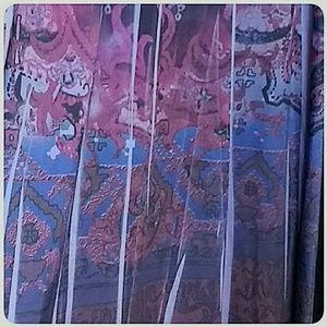 Apt. 9 Dresses - Apt 9 Empire Waist  Maxi-Dress Purples Size Medium