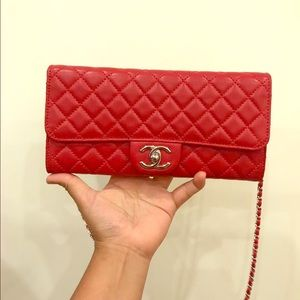 Authentic Chanel WOC/ Clutch