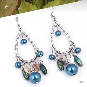 Jewelry - New beaded drop earrings