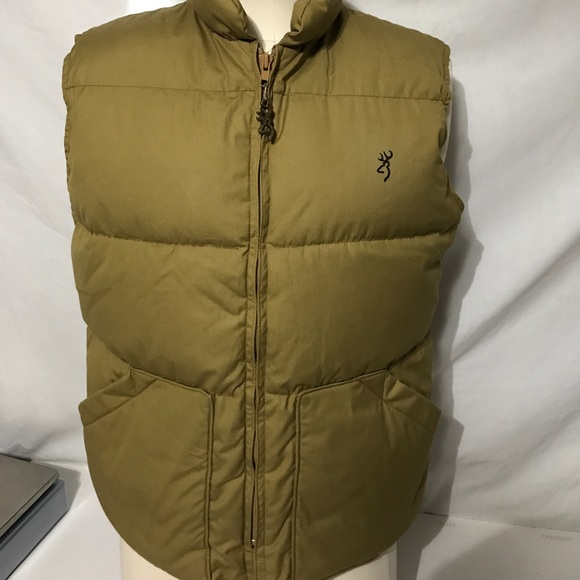 8b1fade5306af Browning Jackets & Coats   Mens M Goose Down Filed Puffer Vest ...