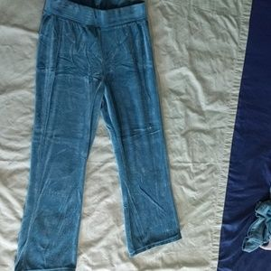 Hanes Pants - 🤸🏼♀️ Teal Velvet Track Suit