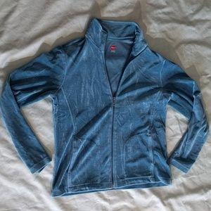 Hanes Pants - Hanes Teal Velvet Track Suit