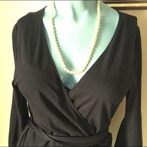 Old Navy Dresses - Soft Black #WrapDress