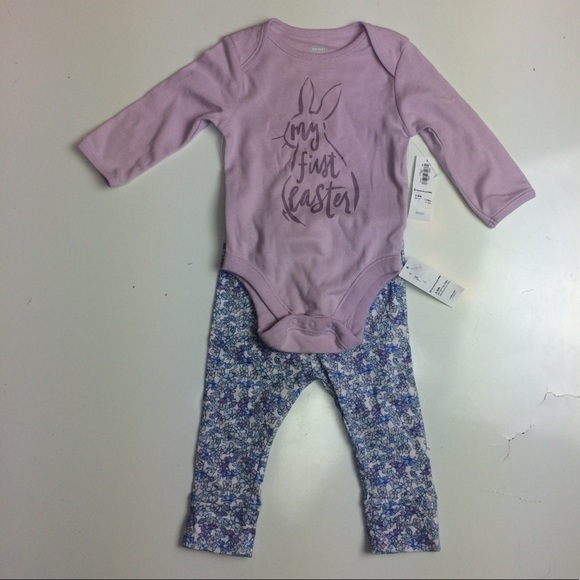 c90d6b00a Old Navy Matching Sets | My First Easter 2 Piece Outfit Girls 36 ...