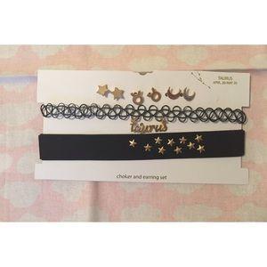 NWOT Astrological Taurus jewelry bundle