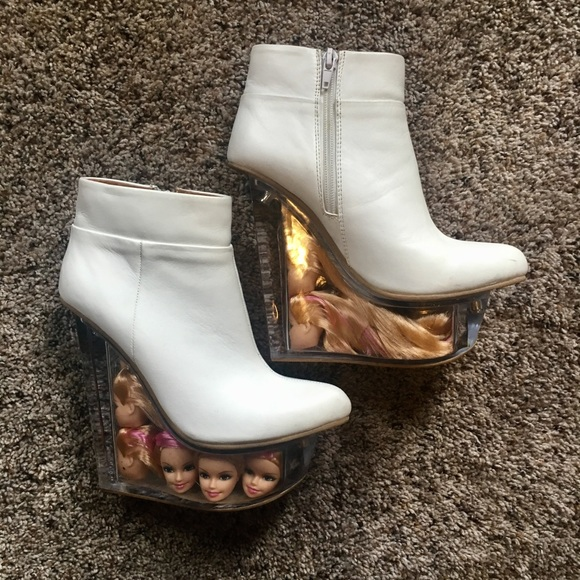 479ccfb40e1 Jeffrey Campbell Shoes - Jeffrey Campbell Icy Doll Heads Booties