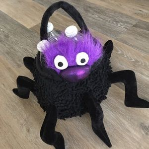 Other - NEW Adorable Plush Spider Halloween Treat Bag Pail