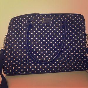 Make an offer! Black & white Kate Spade laptop bag