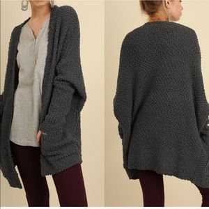 NWT Oversized soft sweater coat