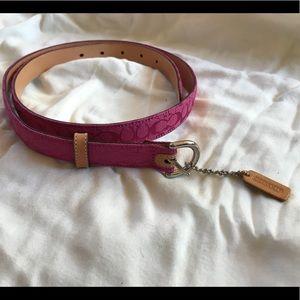 Authentic Coach belt • size M