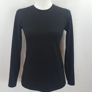 Other - Solid black bcg long sleeve athletic shirt