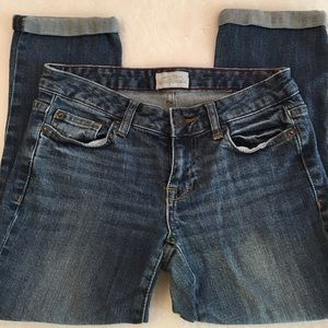 Aeropostale Ankle Rolled Jeans