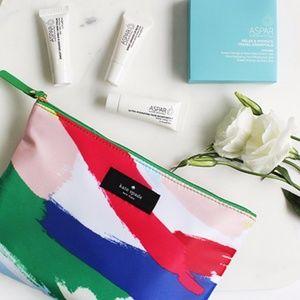 ♠{Kate Spade} Paint Motif Amenities Bag