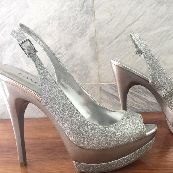 Silver 3.5 Inch Heels