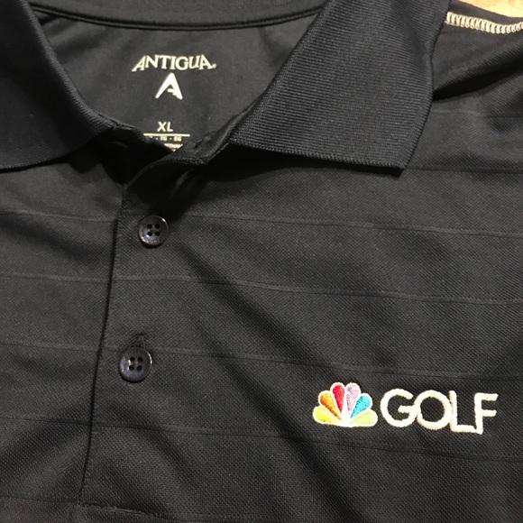 1242e1e74 Antigua Other - NBC Golf Polo Shirt Antigua Navy Adult Mens XL