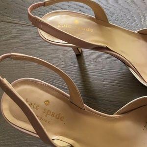 3bacad259e30 kate spade Shoes - New York  jeanette  Slingbacks White Pink