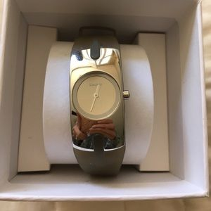 DKNY watch with rubber type band